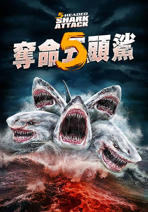 奪命5頭鯊